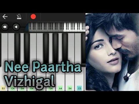 Nee Partha Vizhigal | Aniruth Ravichandran | 3 | Dhanush | Perfect Piano