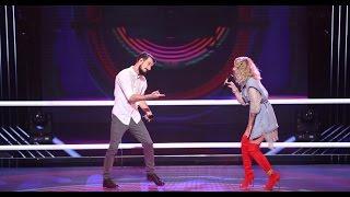 Rucsandra Iliescu & Vlad Constantin – Can't Stop The Feeling LIVE | Battle | Vocea Romaniei 2016