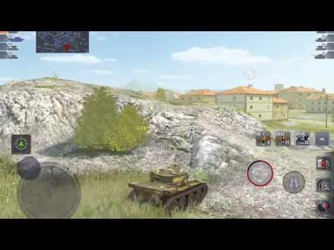 World of Tanks Blitz - T71: 2k+ damage games, still no ace