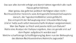 Die SPD und ihre Justizverbrechen Teil 24
