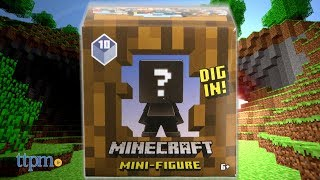 Minecraft mini-Figure Wood Series from Mattel