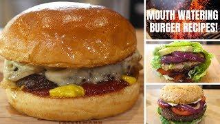 Burger Recipes You Can't Resist!