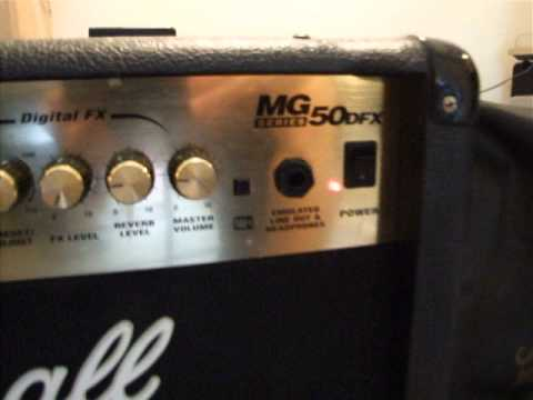 Verrassend Marshall mg50dfx - YouTube KU-22