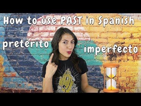 You had in spanish preterite