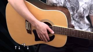Гитарный бой № 6 (видеоурок) dieza.NET