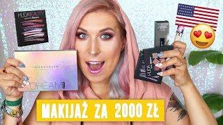 ♦ Makijaż kosmetykami z USA za 2000 zł 😱 Agnieszka Grzelak Beauty