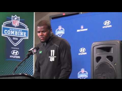 2016 NFL Scouting Combine: Cardale Jones Press Conference
