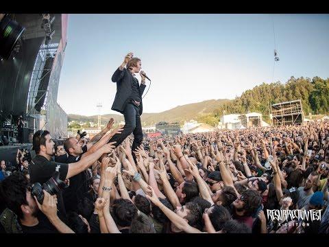 Refused   at Resurrection Fest 2015 Viveiro, Spain Full show