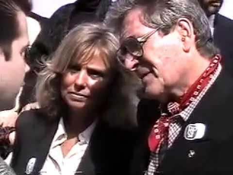 Cowboy Hall Of Fame - Hugh O'Brian, Maureen O'Hara, Clayton Moore