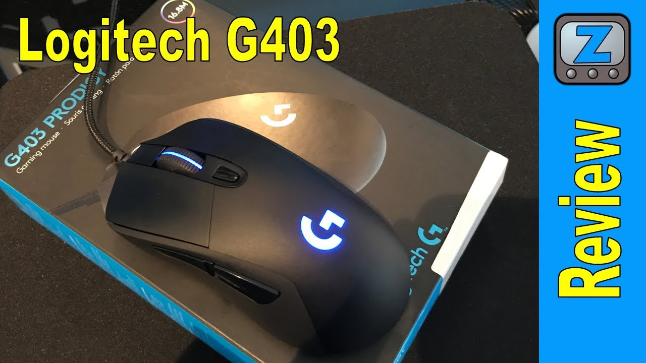 f3e643d37fc Logitech G403 Prodigy Gaming Mouse Review - YouTube
