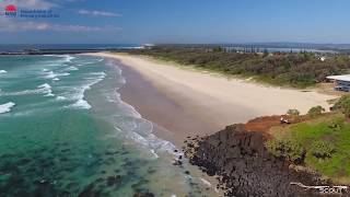 Drones detect Sharks at Lighthouse Beach, Ballina