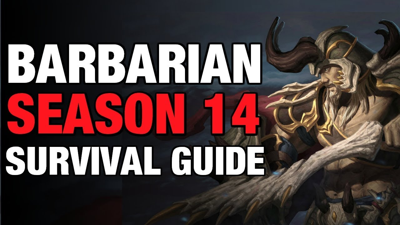 Diablo  Seasonal Barbarian Build