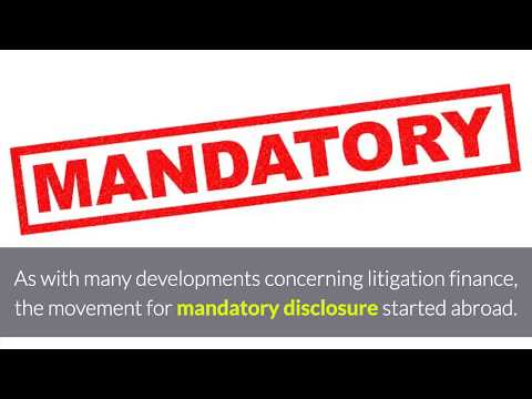 Why Mandatory Disclosure of Third-Party Litigation Funding Is a Bad Idea