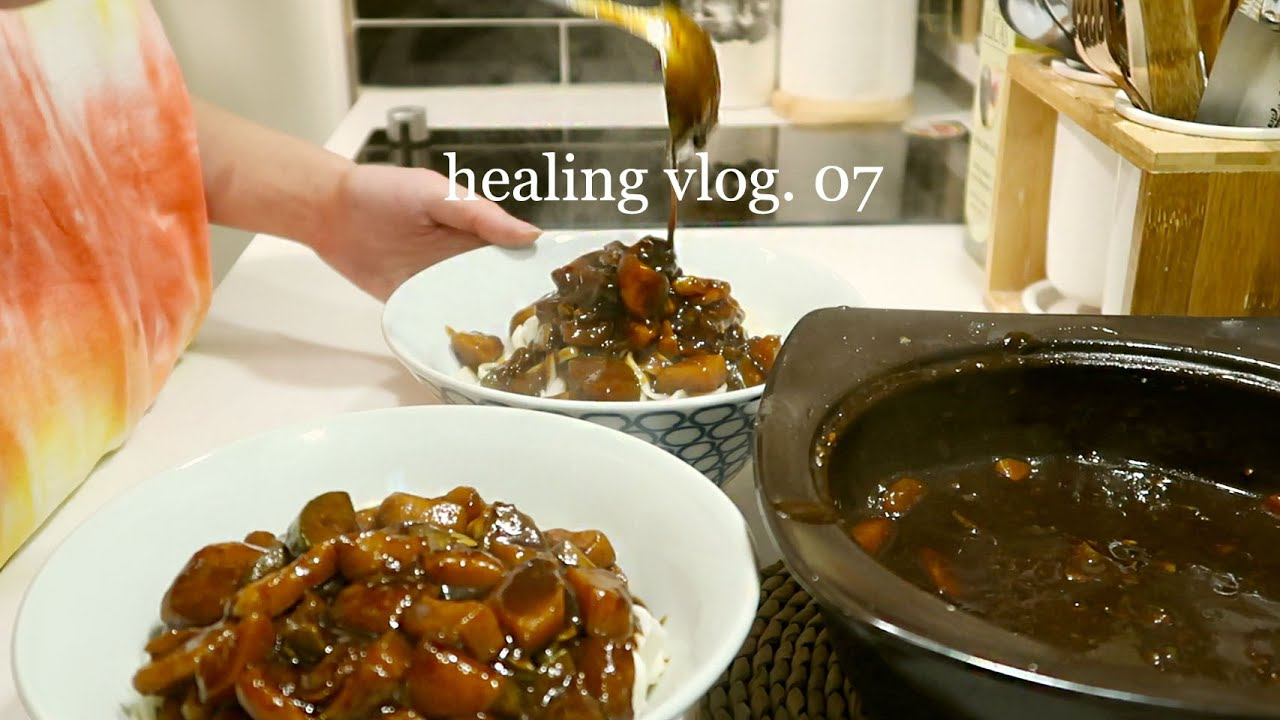 Life in Korea: Cooking Jajangmyeon (Korean black bean noodles) + Lasagna, Visit to Cafe | WAKEUP QQ