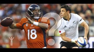 American Football vs Rugby - Best Comparison Ever Seen