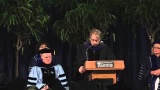 Commencement 2014 - Commencement Speaker Barry Scheck