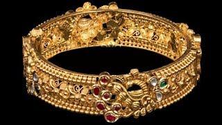 Fine Work Gold Bangles Designs 2019   Indian Jewellery Design 2019