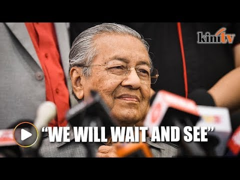 No 1MDB funds in PAS' accounts? We will wait and see if it is true or not, says Dr M