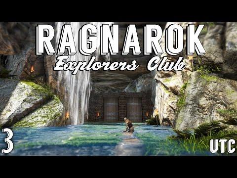 Ragnarok Explorers Club Ep. 3 :: Scotland :: Our New Waterfall Cave Base :: Ragnarok Map :: UTC
