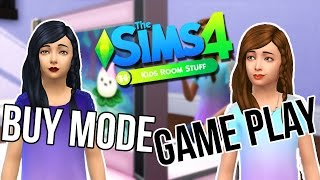 The Sims 4 Kids Room Stuff || Buy Mode & Game Play