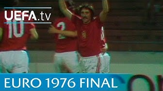 Czechoslovakia v West Germany: 1976 UEFA European Championship final highlights