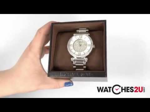 MK3355 Michael Kors Ladies Catlin Silver Watch thumbnail