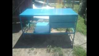 Stół warsztatowy- budowa