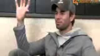 Enrique Iglesias Talks About India & Katrina