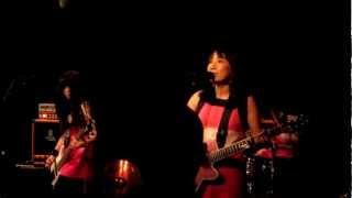 Osaka band Shonen Knife @ Café Mono, Oslo, October 23. 2012 Song st...