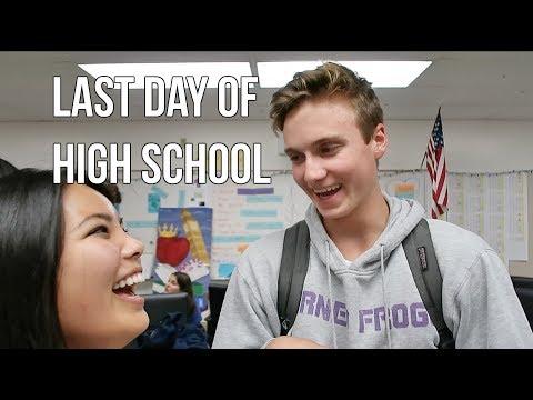 LAST DAY AT PALOS VERDES PENINSULA HIGH SCHOOL | Mana Kimura