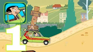 MR BEAN SPECIAL DELIVERY - Gameplay Walkthrough Part 1 - Level 1 - 4 Racing