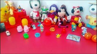 Sürpriz Yumurtalar Açtık / OYUNCAK /Ouverture de l'oeuf /Pokemon Pixar Disney/ Barbie / Smurf  Cars