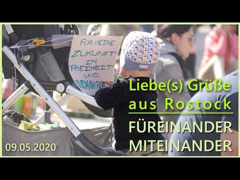 FÜREINANDER -MITEINANDER Friedensmeditation am 09. Mai 2020 in Rostock