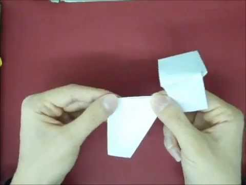 how to make a ufo paper airplane