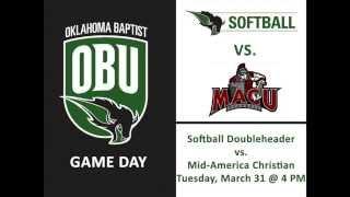 Softball Game Day 3/31