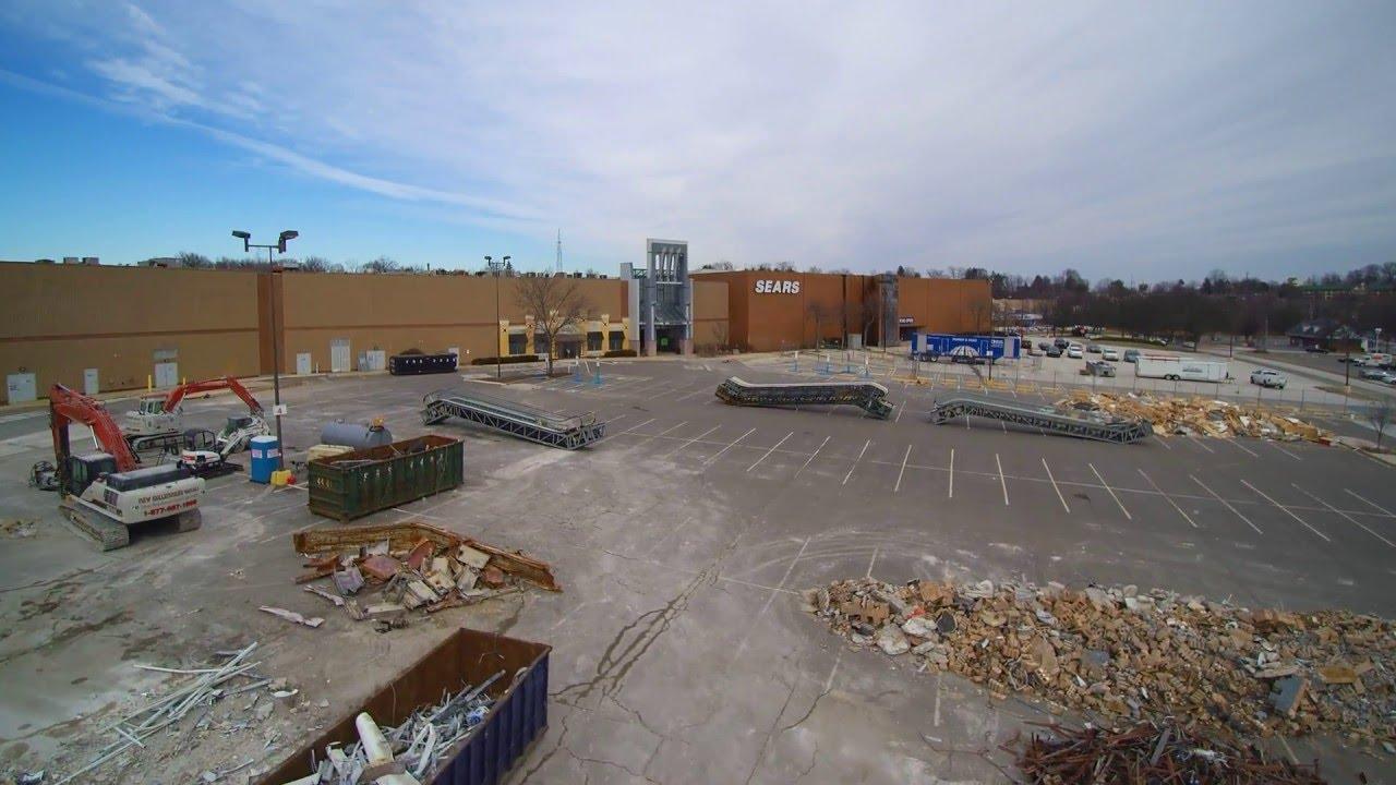 Granite Run Mall Construction 2 2016 Youtube