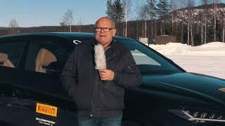 The legendary Stig Blomqvist driving on ice & snow