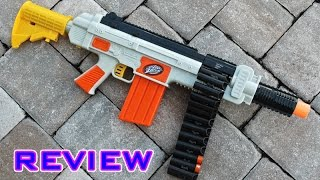 [REVIEW] Air Zone Quickfire Autofed Belt Blaster Unboxing, Review, & Firing Test