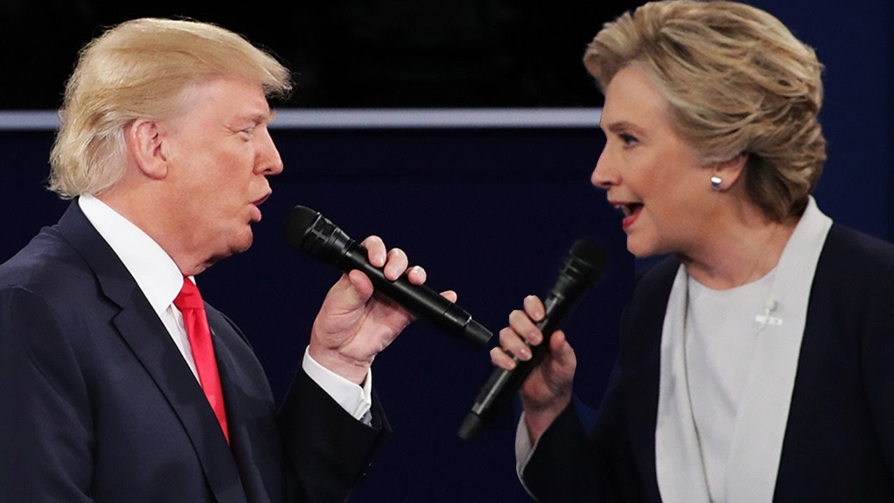 Image result for hillary clinton vs donald trump