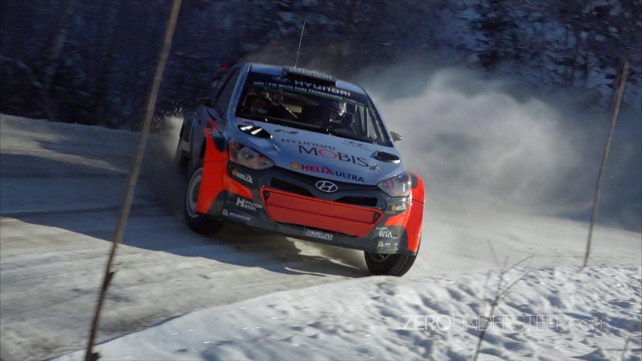 Brilliant Hayden Paddon Flatout  I20 WRC CoDrive Sweden Hyundai