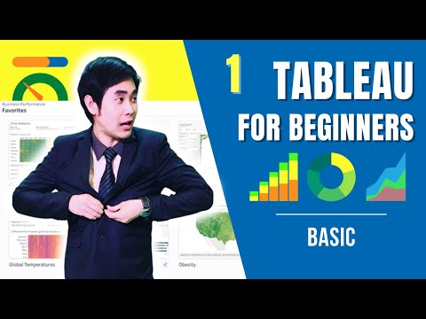 [Aj. NesT สอน Tableau] EP.1 Tableau Presenting Analytics for Data Visualization
