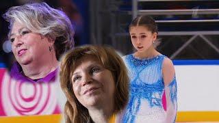 Татьяна Тарасова и Наталья Бестемьянова оценили прокат Валиевой с тройным акселем