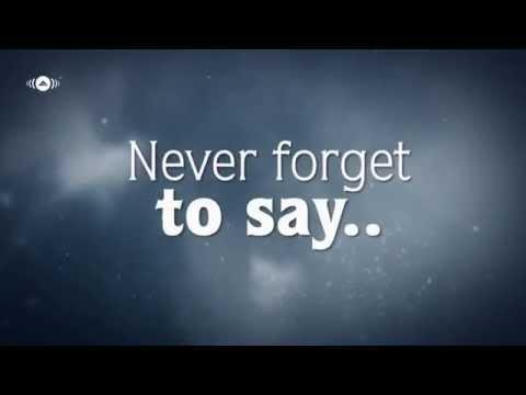 Mesut Kurtis Ft Maher Zain-NEVER FORGET Vocals Only (Lyrics)