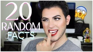 Video 20 RANDOM FACTS ABOUT ME | THINGS YOU DIDN'T KNOW | MannyMua download MP3, 3GP, MP4, WEBM, AVI, FLV Juli 2018