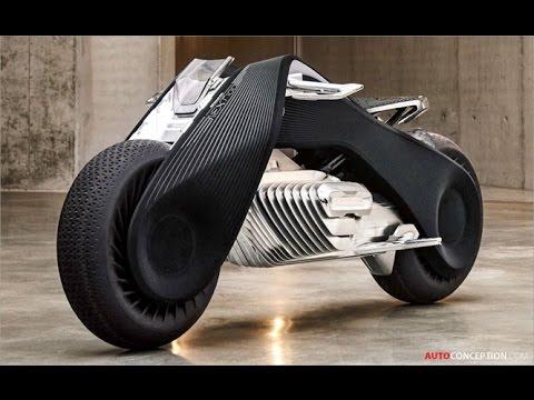 motorcycle design: 2016 bmw motorrad vision next 100 - youtube