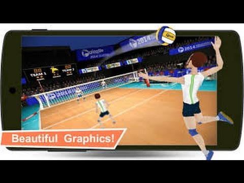 Volleyball Champions 3D 2014 Android Gameplay (HD)