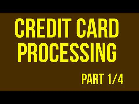 Credit Card Processing For Your Online Business PT 1