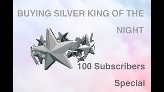 Buying Silver King Of The Night | ROBLOX | 100 Subscribers Special!