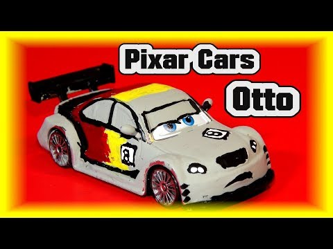 Pixar Cars Video Game Car Otto Bonn From Max Schnell  Pixar Cars Custom
