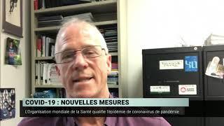 COVID-19 : période critique pour ralentir la propagation  – Benoit Barbeau